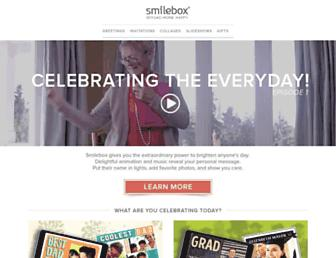 smilebox.com screenshot