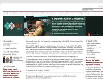asmconsortium.net screenshot