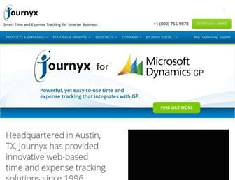 Thumbshot of Journyx.com