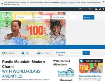 Thumbshot of Wildernessatthesmokies.com