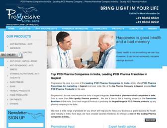 progressivelifecare.com screenshot