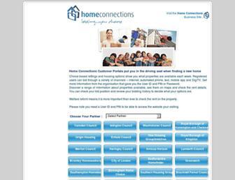 Thumbshot of Homeconnections.org.uk