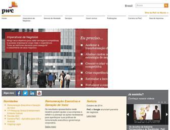 pwc.com.br screenshot