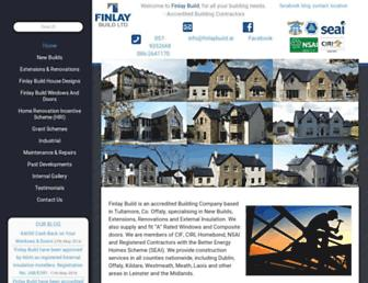 finlaybuild.ie screenshot