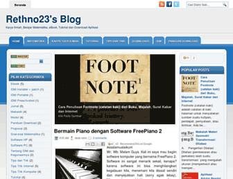 rethno23.blogspot.com screenshot