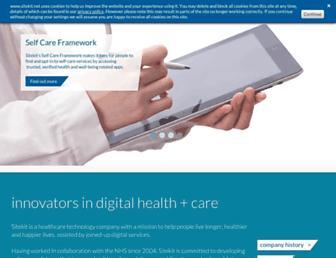 Main page screenshot of sitekit.net