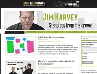 jim-harvey.com screenshot