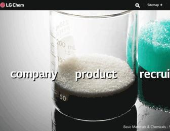 lgchem.com screenshot