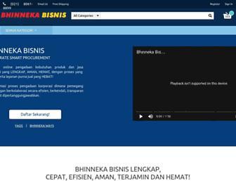 bisnis.bhinneka.com screenshot
