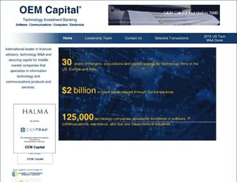 oemcapital.com screenshot