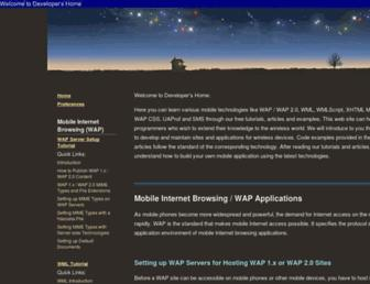 developershome.com screenshot