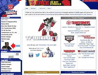 Thumbshot of Tfwiki.net