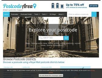 Thumbshot of Postcodearea.co.uk