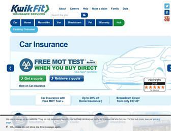 kwik-fitinsurance.co.uk screenshot