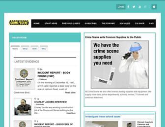 crimescene.com screenshot