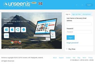 unsene.com screenshot