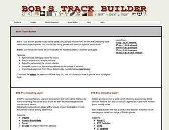 bobstrackbuilder.net screenshot