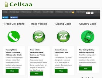 cellsaa.com screenshot