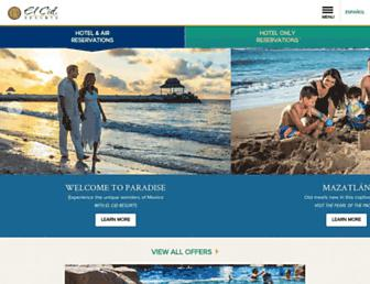 Thumbshot of Elcidresorts.com.mx