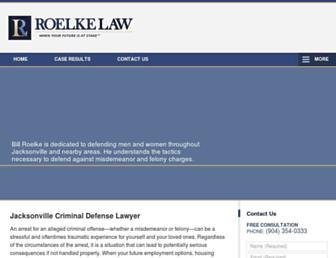 roelkelaw.com screenshot