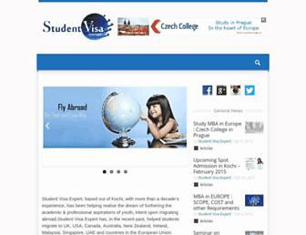 studentvisaexpert.com screenshot