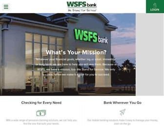 Thumbshot of Wsfsbank.com