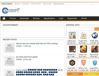 hmtsoft.com screenshot