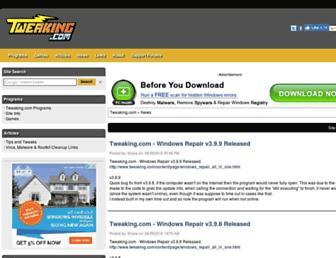 tweaking.com screenshot