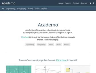 academo.org screenshot
