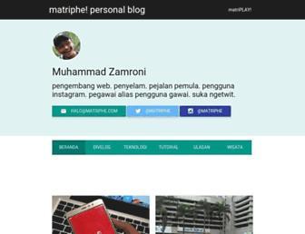 matriphe.com screenshot