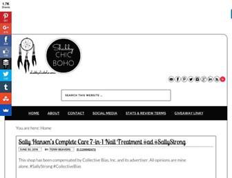 Thumbshot of Shabbychicboho.com