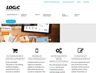 logicsolutions.com screenshot