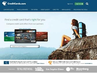 creditcards.com screenshot