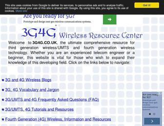 3g4g.co.uk screenshot