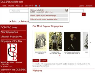 biographi.ca screenshot