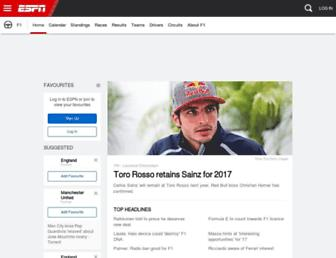 Thumbshot of Espnf1.com