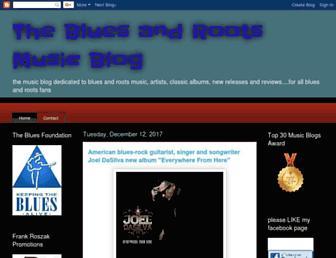 thebluesmusicblog.blogspot.com screenshot