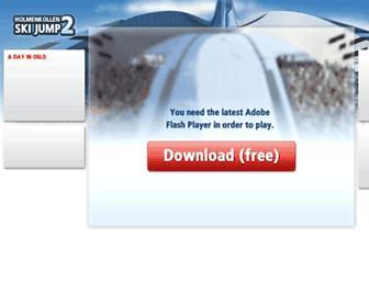 holmenkollen.visitnorway.com screenshot
