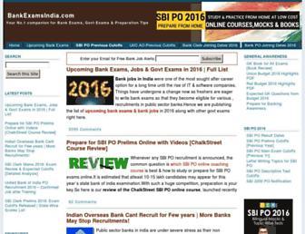 Thumbshot of Bankexamsindia.com