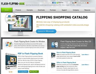 flash-flipping-book.com screenshot