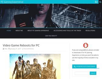 pcgamingexperience.com screenshot