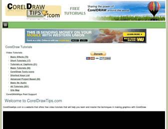 coreldrawtips.com screenshot