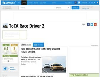 toca-race-driver-2.en.softonic.com screenshot