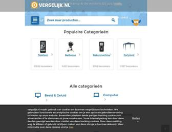 Thumbshot of Vergelijk.nl