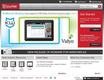 kioware.com screenshot