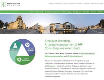 Thumbshot of Koenigsteiner-agentur.com