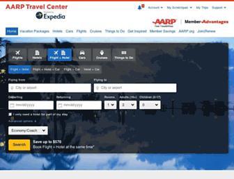 Thumbshot of Expedia-aarp.com