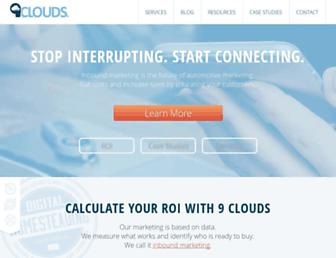 9clouds.com screenshot