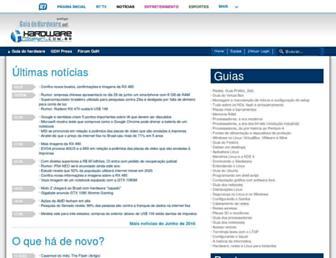 hardware.com.br screenshot