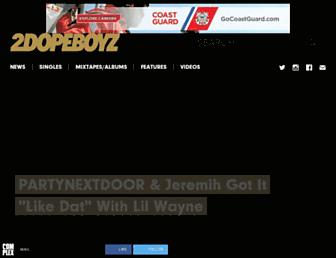 Thumbshot of 2dopeboyz.com